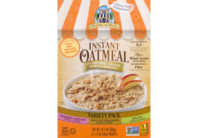 Bakery On Main Instant Oatmeal Variety Pack - 6 PK