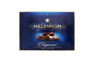 Цукерки шоколадні молочні Elegance Millennium к/у 143г
