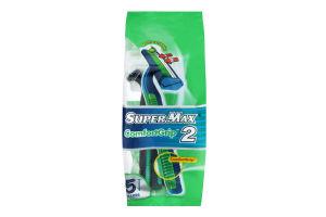 Станок для бритья Comfort Grip 2 Super-Max 5шт