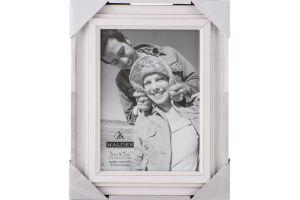 Malden 5x7 White Picture Frame