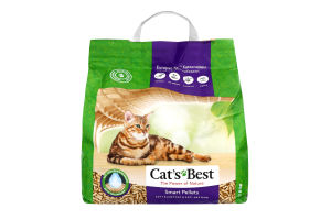 Підстилка Cat's Best Смарт Пеллет 10л/5 кг,Rettenmaier