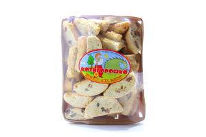 Печиво Котигорошко Італійське бісквітне з родзинками 400гх12