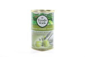 Оливки с косточкой Feudo Verde ж/б 300г