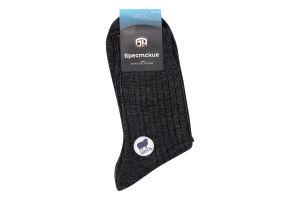 Шкарпетки чоловічі Брестские Arctic №14С2431 27 темно-сірий