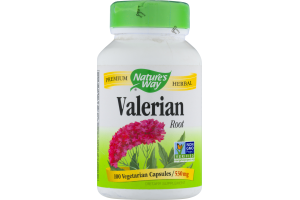 Nature's Way Valerian Root - 100 CT