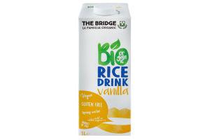 Напиток рисовый The Bridge ванильн аром органич