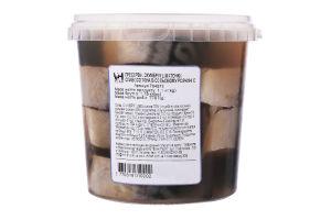Скумбрия кусочки в солевом растворе Вогні Гестії сл/c кг