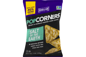 PopCorners Popped Corn Chips Salt Of The Earth