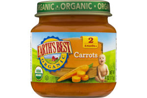 Earth's Best Organic Stage 2 Carrots