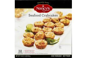 Nancy's Seafood Crabcakes - 32 CT