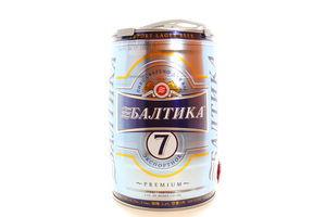 Пиво Балтіка №7 Premium 5л х5