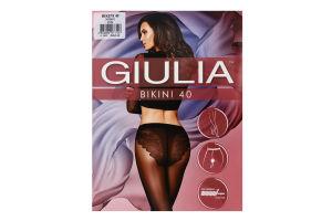 Колготки жіночі Giulia Bikini 40den 2-S nero