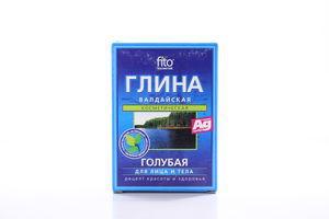 Глина Фіто блакитна Валдайська 100г