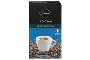 Кава натуральна смажена мелена Mocha Rioba в/у 250г