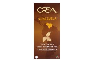 Шоколад екстра чорний Venezuela Crea к/у 100г