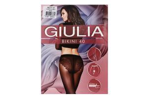 Колготки жіночі Giulia Bikini 40den 3-M cappuccino