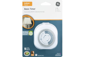 GE Basic Timer Indoor Plug-In