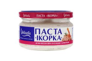Паста деликатесная икра сельди с креветкой Икорка Veladis с/б 160г