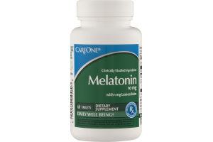CareOne Melatonin 10mg Tablets - 60 CT