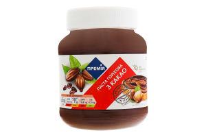 Паста горіхова з какао Премія с/б 350г