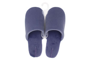Тапочки домашние женские велюровые Twins Голубые 40