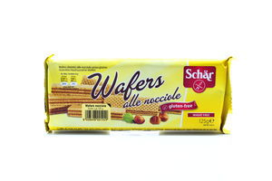 Вафли Wafers alle nocciole ореховые Schar 125г