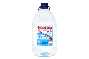 Вода питна негазована №1 Іволжанське природне джерело п / бут 6л