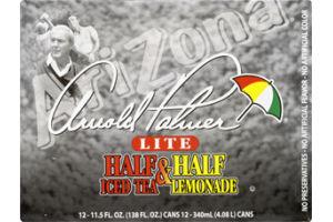 Arizona Arnold Palmer Lite Half Iced Tea & Half Lemonade - 12 CT
