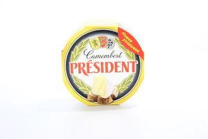 Сыр 60% мягкий Camembert картонная упаковка President 120г