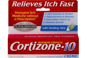 Cortizone 10 Creme Maximum Strength