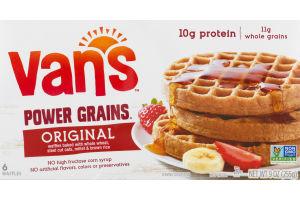 Van's Power Grains Waffles Totally Original - 6 CT
