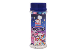 Посыпка кондитерская фигурная Феерия Добрик п/б 80г