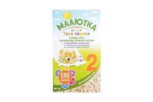 Смесь сухая на молочно-зерновой основе для детей от 6мес №2 Тихий час Малютка Premium к/у 300г