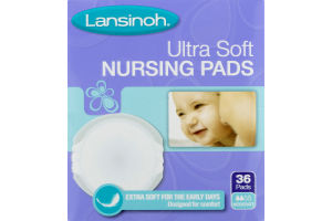 Lansinoh Ultra Soft Nursing Pads - 36 CT