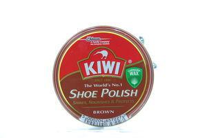 Крем Kiwi д/взуття Shoe Polish коричневий ж/б 50мл х12