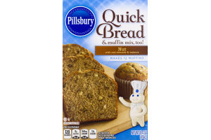 Pillsbury Quick Bread & Muffin Mix nut