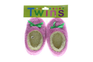 Тапочки-чешки комнатные детские флисовые Twins 28-29