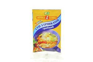 Суп с гренками грибной Велика ложка 20г