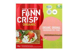 Сухарики житні Oringinal taste Organic з цільнозмеленого борошна 200