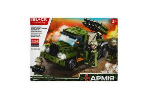 Конструктор для дітей від 3років №PL-920-163 Армія Iblock 1шт