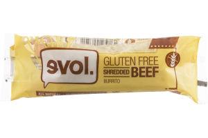 evol. Shredded Beef Burrito Gluten Free