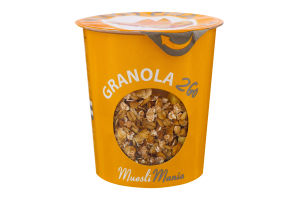 Сніданки сухі Гранола з манго Mango-Chia Cranola 2Go Muesli Mania ст 70г