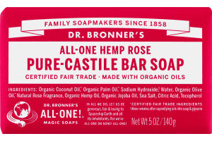 Dr. Bronner's All-One Hemp Pure-Castile Bar Soap