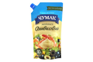 Майонез 50% Оливковый Чумак д/п 350г