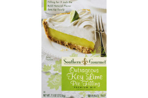 Southern Gourmet Premium Pie Filling Mix Outrageous Key Lime