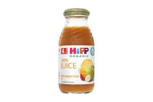 Сок для детей от 4мес мультифруктовый Hipp с/бут 0.2л