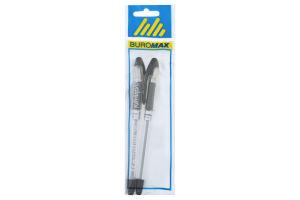 Ручка масляная черная №BM.8352-02-2 MaxOffice Buromax 2шт