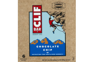 Clif Bar Energy Bars Chocolate Chip - 6 CT