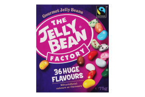 Цукерки 36 Huge Flavours The Jelly Bean Factory к/у 75г