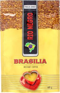 """Кава """"Rio Negro Brasilia """" розчинна субл 60г."""